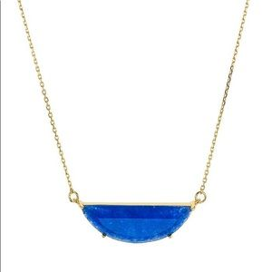 Kate Spade Half Moon Necklace (new with tags)